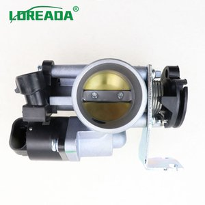 LOREADA Original Motorcycle Throttle body Bore Size 34 mm for 125 150CC with Delphi IACA 26179 and TPS Sensor 35999