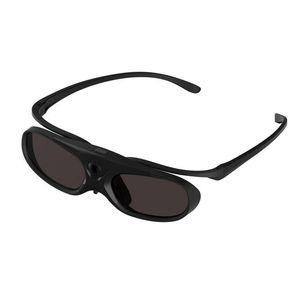 Destacável Ativo Clipe Shutter óculos 3D recarregável Óculos 3D para DLP link