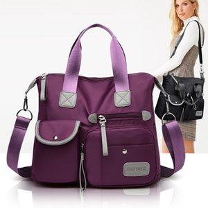 Cross-Border 2020 New European and American Fashion Womens Bag Nylon Diaper Bag Large Capacity Shoulder Bag Hand Bag Travel