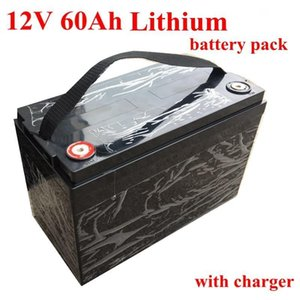 12v 60ah Lithium Battery Pack With Bms For Golf Carts Campers Power Supply Ev Solar Storage Motorhomes Li -Ion 60ah 5a Charger