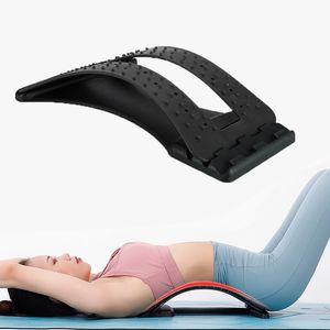 العودة نقالة مساج الرقبة الخصر لتخفيف الآلام ماجيك دعم تدليك العضلات داخلي تحفيز الاسترخاء معدات اللياقة البدنية