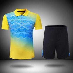 renkli badminton setleri Kadınlar / Erkekler Badminton giysi masa tenisi giysi badminton gömlek + şort 205