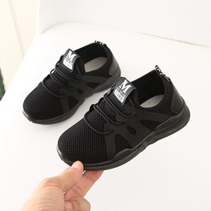 2020 Student School Shoes Children Infant Kids Mesh Sport Run Sneakers Baby Girls Boys Casual Breathable Light Weight Shoes #85