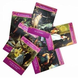 Carte dei tarocchi Out Angeli 44 Deck misteriosa Doreen Gioco Oracled Consiglio By The Romance virtù New English Rare Carte intero Stampa yxlhqr