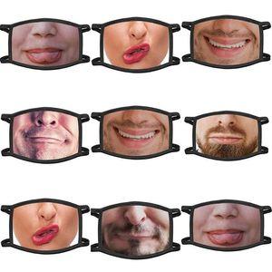 Baskılı Koruyucu Yüz Yüz toz geçirmez Yaratıcı Uk Maskeleri Hayvan Yıkanabilir Uk Unisex Komik Kargo Pamuk sQxaq mx_home Maskeler Maske