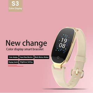 S3 Smart Watch Color Screen Waterproof Women Smart Band Heart Rate Monitor Smartwatch Relogio Inteligente For Android Ios