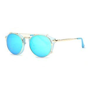 BINGKING Brand Design Retro Mode-Frauen-Sonnenbrille Plastikmaterial Linsen Jahrgang 6 Farben 92106 UV400 Brillen