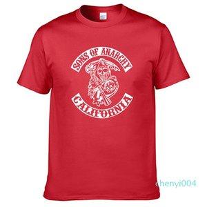 SOA Fils de la mode enfant SAMCRO T-shirt imprimé hommes / femmes Hip Hop Mode manches courtes en coton Casual Mens T-shirt C04