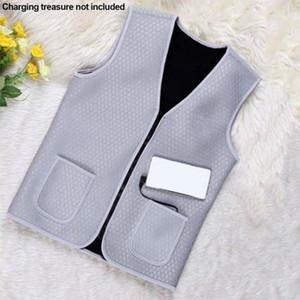 New Men Women Vest Jacket Usb Heated Jacket Winter Clothes Unisex Heating Vest for Outdoor Warm Winter Gifts On Sale