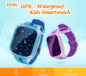 Slimy New Smart Watch GPS Children Kids Baby Wristwatch DS18 GSM GPS Locator Tracker Anti-Lost Smartwatch Child PK Q90 V7K Q50