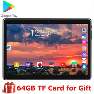 2020 New Office Game Tablet 10 Inch Quad Core MTK 3G Wifi Network Phone Call 1280X800 ips Dual Camera Android 9.0 os Phablet