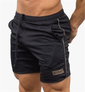 Men Shorts Muscular Short Fitness Quick-Drying Slim Pants Running sports Training Shorts