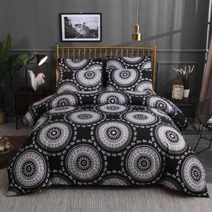 bed linings Boho ethnic style kit Bedding Set 3pcs Comfortable children Student bedroom bedding S29