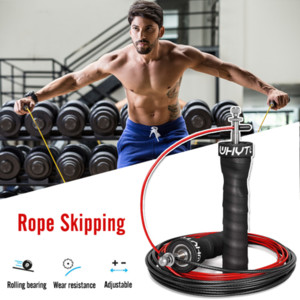 Weight Jump Skip Rope For Men Adjustable Speed Workout Nonslip Handle Skipping Ropes Gym For Jumping Fitness Leg Body Training
