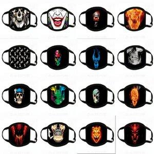 Печать маски 10шт Пакет 3-15Years Dener Fasion Fa Mask 3 слоя Disposale Маска защитная Mout 3--5days Доставка # 903