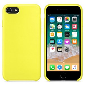 Silicone Case For IPhone 12 11 pro 6 7 8 Plus X XS X Max Liquid Silicone Case And Retail Package
