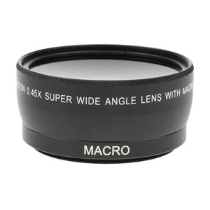 55mm 0.45x Wide Angle + Macro Conversion Lens For Canon SLR