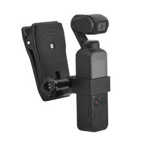 Sac à dos Pince caméra Clip + fixation fixe Adaptateur pour DJI Osmo Pocket poche Gimbal Sac à dos Accessoires de porte