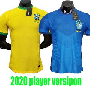 player version 20 21 BRAZİL Firmino soccer jerseys camiseta de futebol copa amerİca 2020 2021 COUTINHO 20 21 brasil football shirt