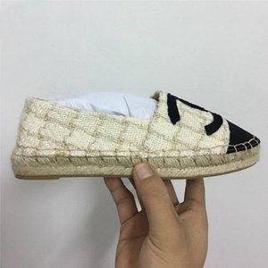 2020 New women Casual canvas shoes autumn Espadrilles women high quality Cloth shoes Women's loafers Luxury Classic Sneaker 35-40 with box