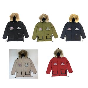 Verkauf der Fabrik Schneezauber lange mittlere Länge Version von Kanada Winter unten Verdickung Mantel Jacke Jacke kalt warm für Männer und Frauen