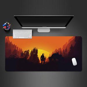 Jogo avançado Mouse Pad Fresco do sol Guerreiro Best-venda Mouse Pad Laptop Keyboard Grande borracha lavável Melhor Mousepad