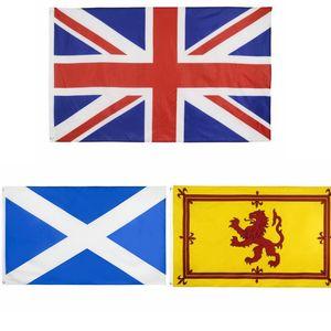 Bandeira Scotland 90 * 150 centímetros Real leão Nacional 3x5ft Digital Imprimir Decor bandeira DHL