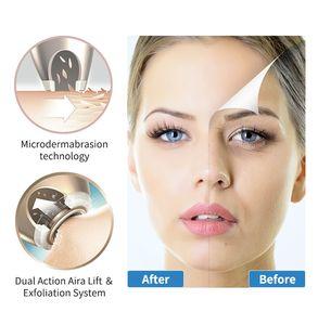 NEWDERMO Diamante Microdermoabrasão máquina de sucção a vácuo remove o enrugamento Scar brilhante descamação da pele da face Mas Spa Beauty