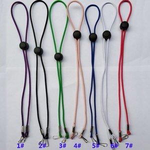 Masques multi couleur Hanging corde Cordes Masque réglable Chain Anti Slip Masque Masques crochet d'oreille Poignées Extension corde Boucle Porte Longe HH9-3305