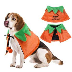 Pet robe de chien Manteau de pluie Vêtements Brown Capes Chiens Elk Cape chiot vêtements pour chiens bowknot robe chiot Costume de Noël