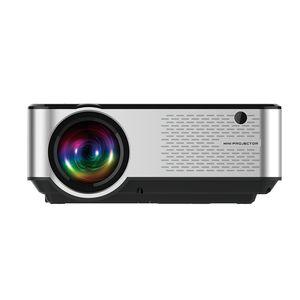 LCD LED Ev Açık Projektör Taşınabilir Projektör 6000 Lümen Yükseltme Full HD 1080P 200inch Ekran Smartphone ile uyumlu Desteklenen
