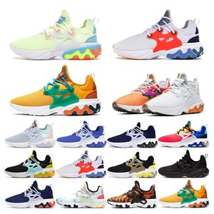 nike air react presto   triplo bianco nero Hot Punch Teal donna sneaker uomo scarpe da ginnastica taglia scarpe sportive eur 36-45