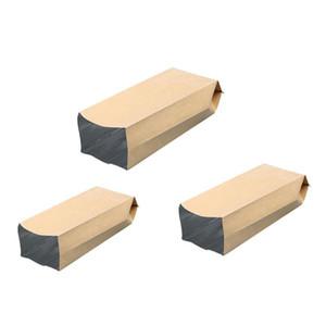 선물 가방 50 PC를 크래프트 종이 가방 파우치 빈티지 작은 크래프트 종이 방수 봉투 선물 캔디 Parfume 포장