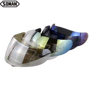 مكافحة الضباب مواجهة الدرع النظارات كاسكو capacete الدراجات النارية قناع عدسة المضادة للأشعة فوق البنفسجية للدراجات النارية الخوذة Windglass أقنعة لK4