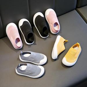 Children Shoes for Girls Sneaker Boys Knit Sport Shoes Spring Autumn New Soft Bottom Baby Toddler Flat Kids Casual Socks