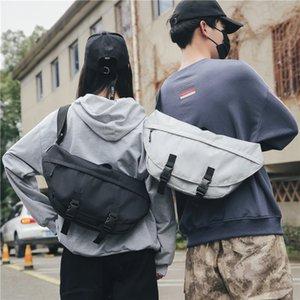 New Simple Men Peito Bag Oxford ombro Waterproof Bag Tide Marca Casual Multifuncional Backpack Outdoor Sports Ciclismo
