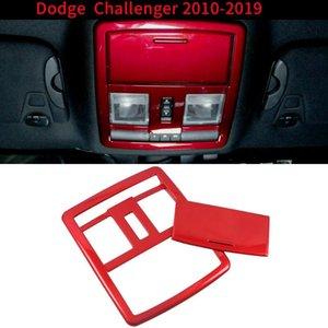 Red interior frontal de lectura lámpara de luz de la cubierta del bisel Accesorios de Montaje para Dodge Challenger 2020-2020