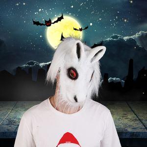 Creepy Party Latex animaux unisexe Orse Gorilla Rait Ead Masque alloween masques effrayants Danielle