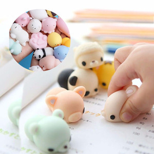 10 pcse children's decompression toys, cartoon mini cute animals, soft toys, maternal and child products, baby products