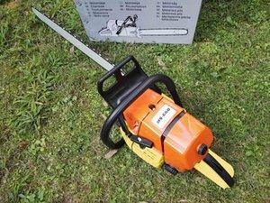 MS660 Chainsaw de alta qualidade 92CC Saw Corrente com 30 polegadas lâmina e corrente de corte profissional serra grande potência