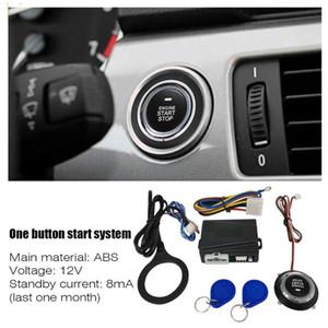12V Car Start Stop Button Engine Push Start Button Alarm RFID Lock Keyless System Door Push Tactile Buttons Antitheft