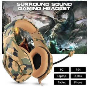 NEW ONIKUMA K1 gaming Headsets headphones Game Headset Stereo with Mic for PC PS4 pro Xbox One Controller Laptop phone Nintendo Switch Games