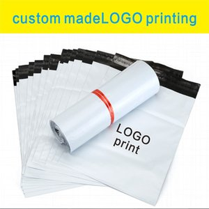 100pcs custom courier bag with logo self seal plastic storage mailing envelope bags Courier envelope packaging printing