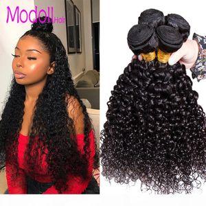 Kinky Curly Virgin Hair Bundles 100% Human Hair Weave Bundles Brazilian Curly Hair Weave 3 4 Bundles Extension Alibaba Remy
