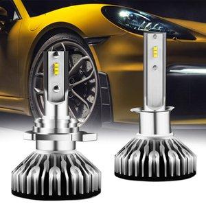 Cgjxs H11 Led lâmpada do farol dianteiro de conversão Kit 7000lm Super Bright 6000k H11 Hi / Lo feixe H8 Fog Light Bulb H9 faróis LED Bulb