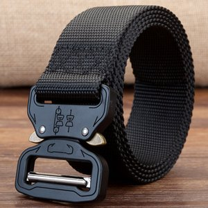 19 NEW Equipment Combat Tactical Belts for Men US Army Training Nylon Metal Buckle Waist Belt Outdoor Hunting Waistband