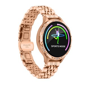 Fashion women's blood pressure real-time detection, physiological period reminder, sleep reminder fitness smart watch