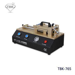 TBK-765 3 in 1 Auto OCA Film macchina Built-in Vacuum Pump compressore d'aria