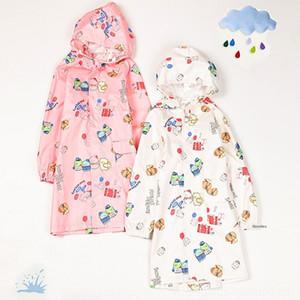 IV0pX vêtements de garçons raincoat enfants biologiques Cartoon coin Body Bag Nouveau corps Cape de pluie clothesand babieskindergarten de studentsjumpsuit