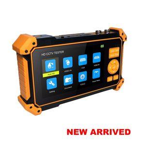 Çok fonksiyonlu kamera izleme test cihazı algılama kamera aracı Kangxin orijinal CCTV test cihazı H52 8MP AHD TVI CVI CVBS TEST